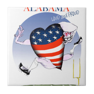 alabama loud and proud, tony fernandes tiles