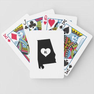 Alabama Love Bicycle Playing Cards