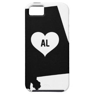 Alabama Love iPhone 5 Cases