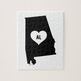 Alabama Love Jigsaw Puzzle