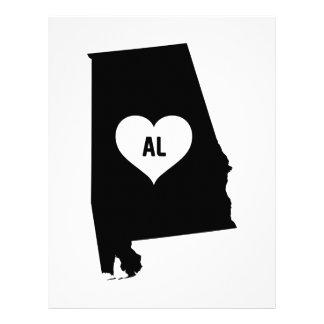 Alabama Love Letterhead