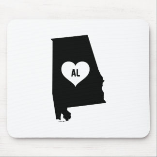 Alabama Love Mouse Pad