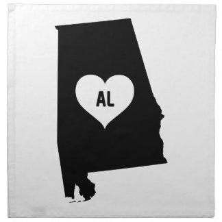 Alabama Love Napkin