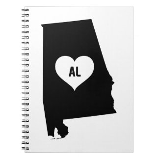 Alabama Love Notebooks