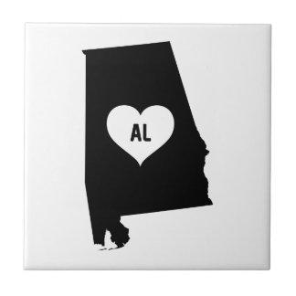 Alabama Love Tile