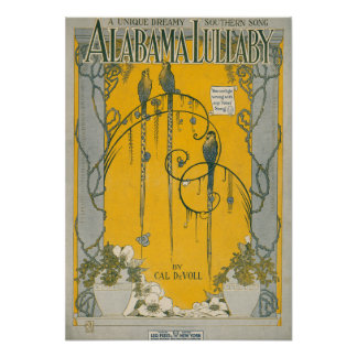Alabama Lullaby Poster