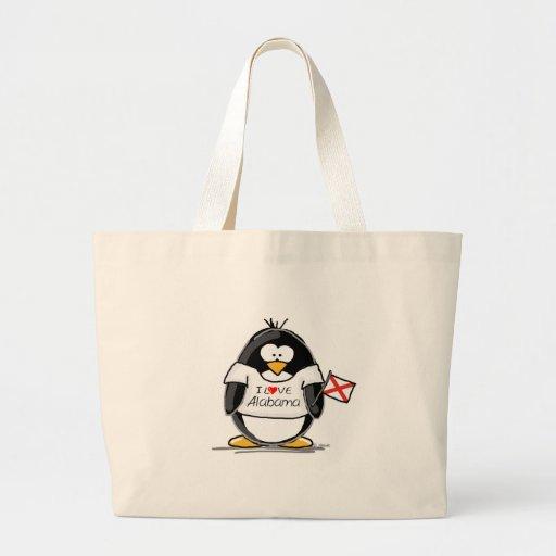 Alabama Penguin Tote Bags