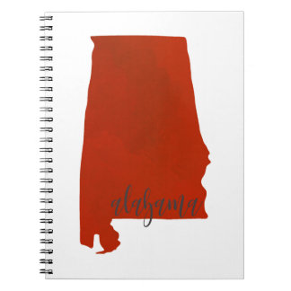 Alabama print notebook