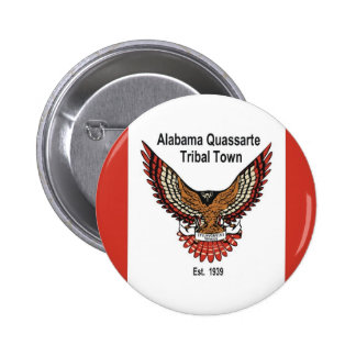 Alabama Quassarte Tribal Town 2 Inch Round Button