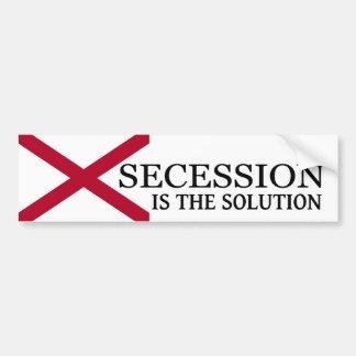 Alabama Secession Bumper Sticker