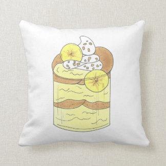 Alabama Southern Banana Pudding Dessert Foodie AL Throw Pillow