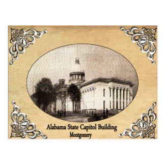 Alabama State Capitol Building Old Postcard