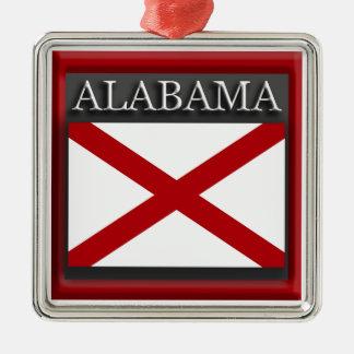 Alabama State Flag Christmas Ornament