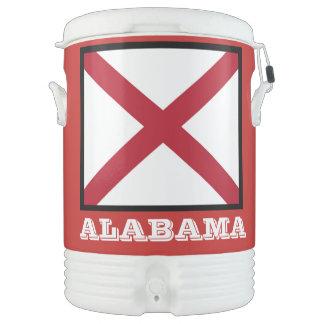 Alabama State Flag Igloo Cooler by Janz
