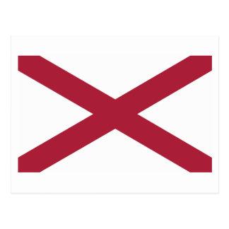 Alabama State Flag Postcard
