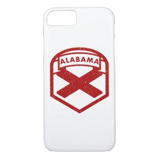 Alabama State Flag Shield iPhone 8/7 Case