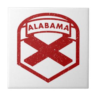 Alabama State Flag Tile