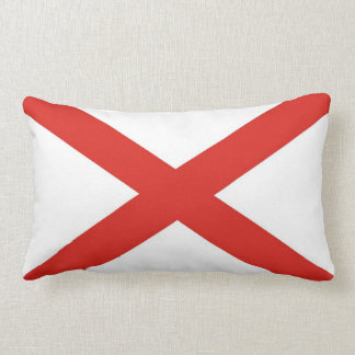 alabama state flag united america pillow