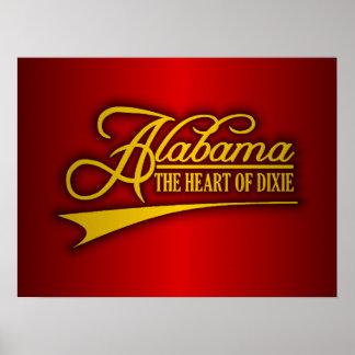 Alabama State of Mine Poster