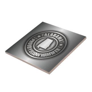 """Alabama Steel"" Decorative Tile"