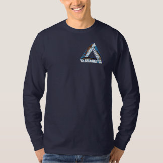 Alabama Sturgeon Trifecta - Blue/Blue - Navy LS T-Shirt
