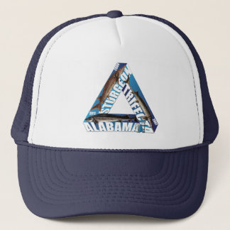 Alabama Sturgeon Trifecta - Blue - Trucker Hat