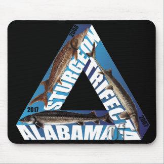 Alabama Sturgeon Trifecta Mouse Pad