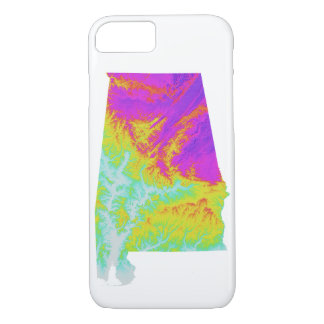 Alabama Tie Dye Phone Case
