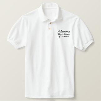 Alabama United States of America Polo Shirt