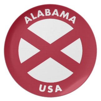 Alabama USA Plate