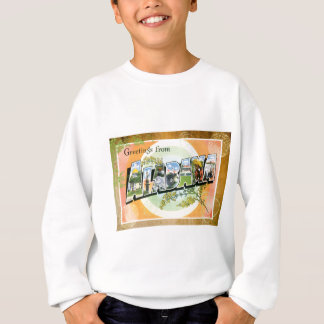 Alabama Vintage Travel Postcard Vacation Sweatshirt