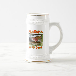 ALABAMA YARD DOG BEER STEIN