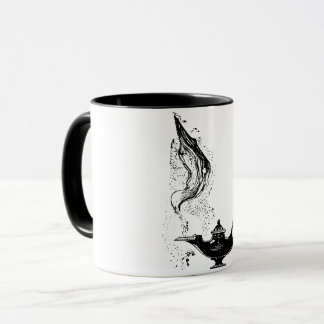 Aladdin Lamp Markup on Coffee Mug Ceramic Mug