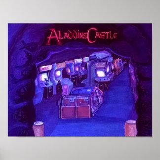 Aladdin's Castle(blacklite active) Poster