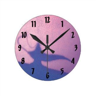 Aladdin's Lamp Wall Clock