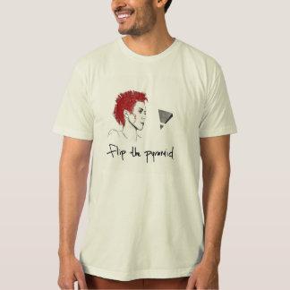 """Alais Clay - """"flip the pyramid"""" organic T-Shirt"""
