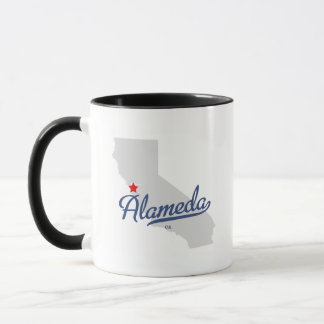 Alameda California CA Shirt Mug