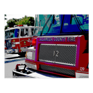 Alameda County Fire Postcard