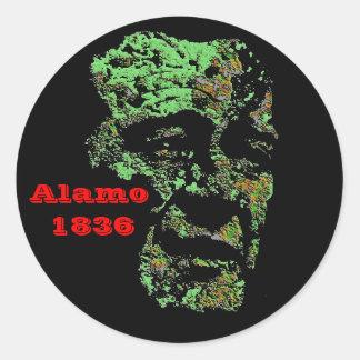 Alamo Classic Round Sticker