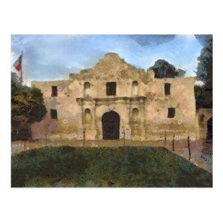 Alamo Lawn Postcard