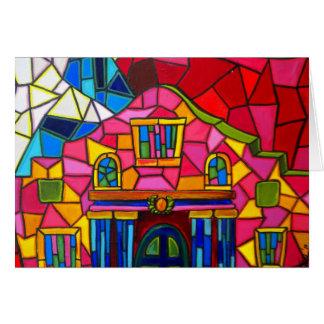 Alamo Mosaic Card