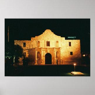 Alamo Night Poster