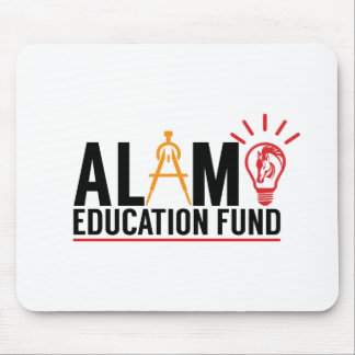 Alamo School Education Fund Logo Mousepad
