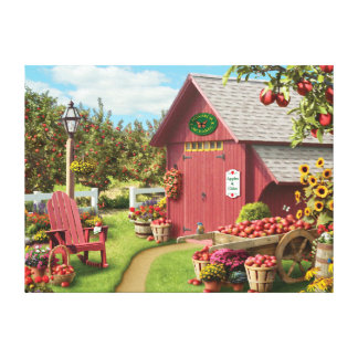 "Alan Giana ""Apple Harvest"" Canvas Print"