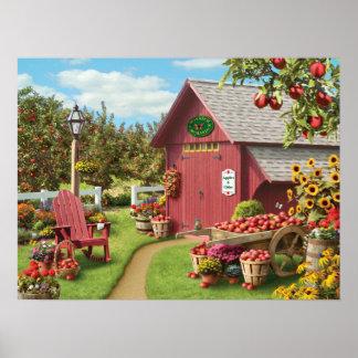"Alan Giana ""Apple Harvest"" Poster"
