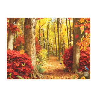 "Alan Giana ""Autumn Woods"" Canvas Print"