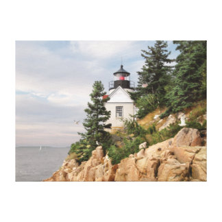 "Alan Giana ""Bass Harbor Head Light"" Canvas Print"