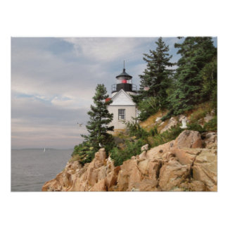 "Alan Giana ""Bass Harbor Head Light"" Poster"