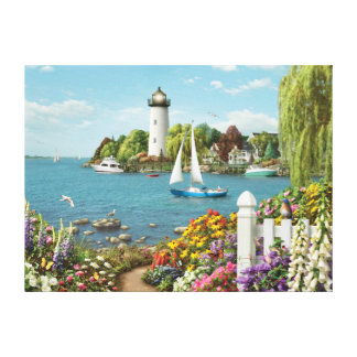 "Alan Giana ""By the Bay"" Canvas Print"