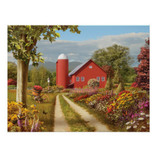 """Alan Giana """"Countryside Afternoon"""" Poster"""